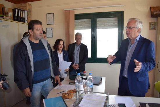 Στη Βιστωνίδα ο Υπουργός Β. Αποστόλου με νομοθετικές ρυθμίσεις για τις λιμνοθάλασσες