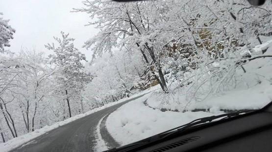 Στα λευκά ντύθηκε η ορεινή Ξάνθη
