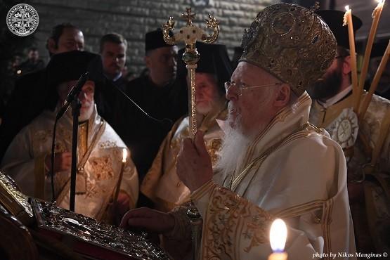 Η Αναστάσιμη Λειτουργία στο Οικουμενικό Πατριαρχείο