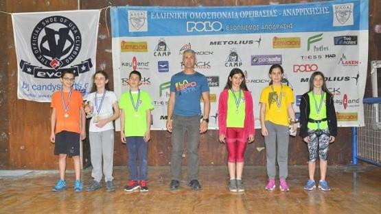 Η αθλήτρια του ΕΟΣ Κομοτηνής Όλγα Εξακοΐδου πρωταθλήτρια Ελλάδος Νέων