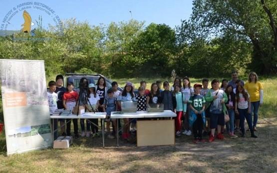 Στο Φράγμα Τοξοτών με μαθητές ο Φορέας Διαχείρισης Δέλτα Νέστου, Βιστωνίδας – Ισμαρίδας