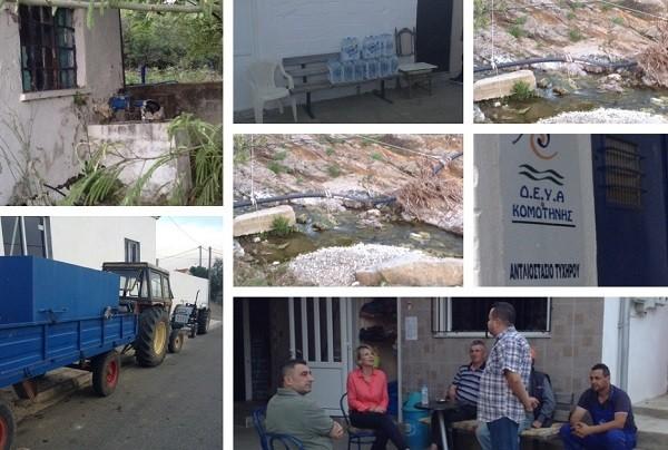 Ιάμπολη Δήμου Κομοτηνής: 22 μέρες χωρίς νερό