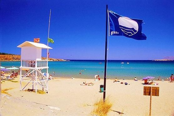 5 Γαλάζιες σημαίες στην Ξάνθη για το 2018