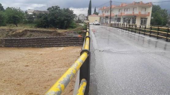 Αποκαταστάθηκε η κυκλοφορία στη γέφυρα Κιμμερίων