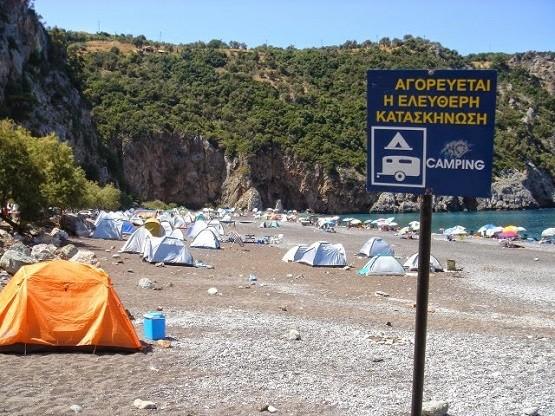 Δύσκολη υπόθεση το οργανωμένο Camping στην Σαμοθράκη