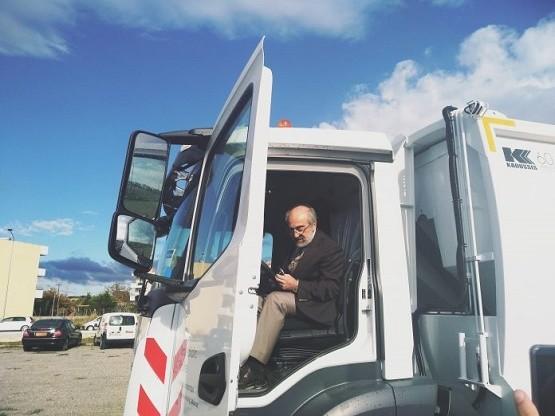 Ο TAP χάρισε στο Δήμο Αλεξανδρούπολης ένα απορριμματοφόρο