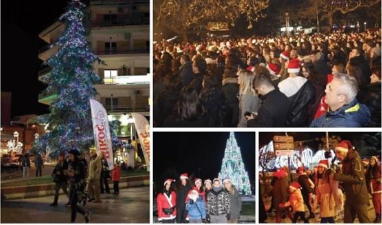 Με φιλανθρωπικό τρόπο ξεκίνησαν οι χριστουγεννιάτικες εκδηλώσεις στην Κομοτηνή