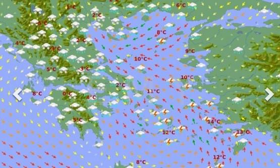 Καιρός: Ψυχρή εισβολή και πανελλαδικό χιονιά από την Τετάρτη βλέπει και η ΕΜΥ!