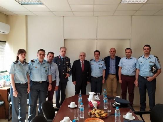 Την ίδρυση Διεύθυνσης Συνοριακής Φύλαξης Έβρου συζήτησε ο Αρχηγός της ΕΛ.ΑΣ με τους αξιωματικούς της ΑΜΘ