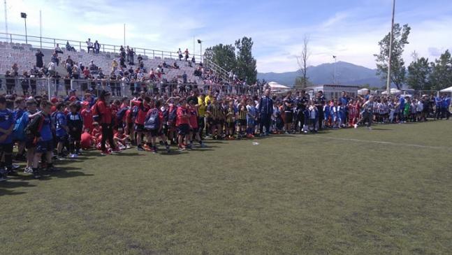 Ολοκληρώθηκε με μεγάλη επιτυχία και συμμετοχή 500 παιδιών το 1ο Tournament Soccer Cup Komotini 2019