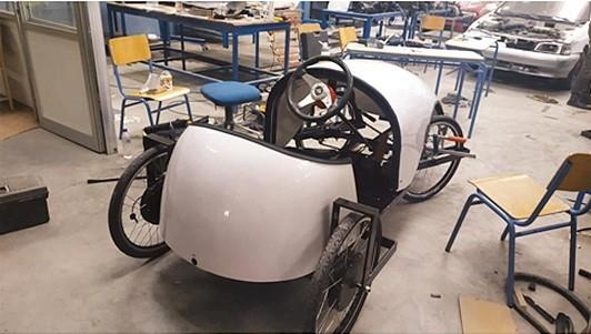 Κομοτηναίοι μαθητές ΕΠΑΛ δημιούργησαν ηλεκτρικό αυτοκίνητο