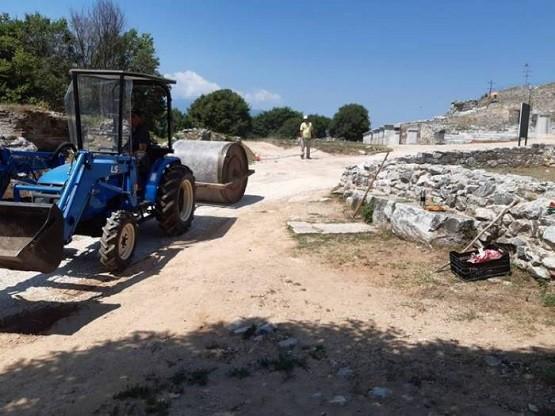 Ράμπα για ΑΜΕΑ στο Αρχαίο Θέατρο των Φιλίππων