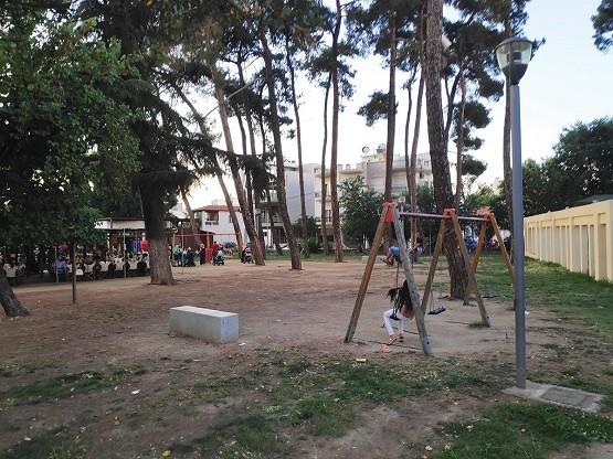 Χωρίς παιδική χαρά το κεντρικό πάρκο της Κομοτηνής