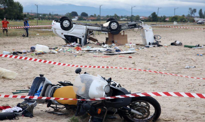 Εξι νεκροί και εικόνες απόλυτης καταστροφής στη Χαλκιδική – Ζητήθηκε η συνδρομή του στρατού