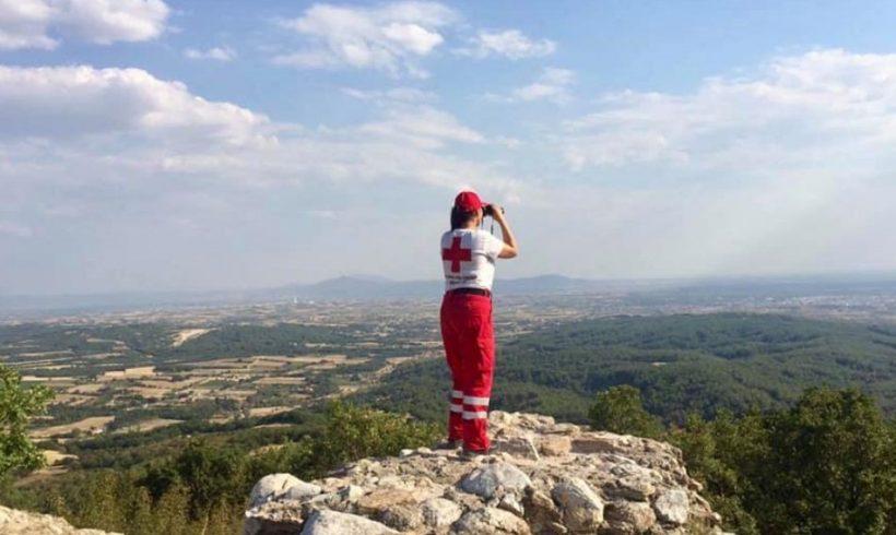 Περιφρούρηση του δάσους της Νυμφαίας από τους Σαμαρείτες του Ερυθρού Σταυρού Κομοτηνής