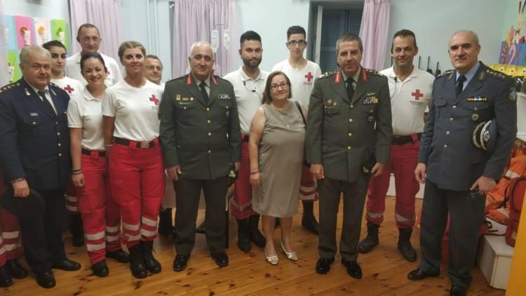 Οι Σαμαρείτες του Ερυθρού Σταυρού στις Γιορτές Παλιάς Πόλης
