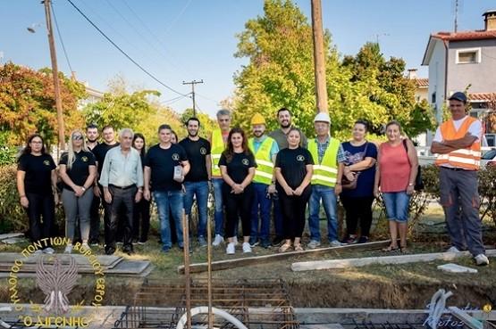 Θεμελιώθηκε το μνημείο για τη Γενοκτονία των Ποντίων στην Ορεστιάδα