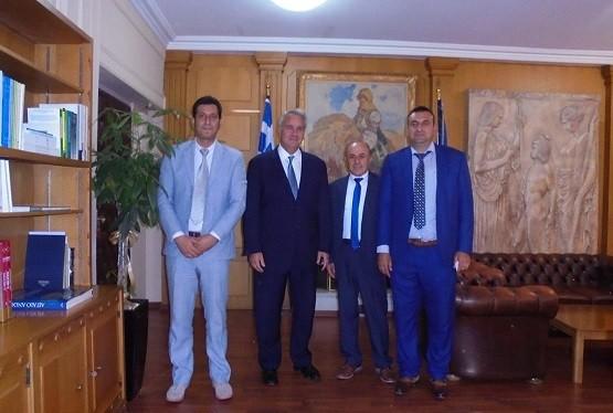 Επαφές στην Αθήνα για τον σύλλογο ελληνικής κόκκινης φυλής βοοειδών Θράκης