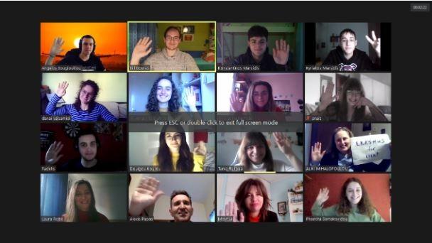 Η δύναμη της τέχνης: Διαδικτυακά στο ERASMUS+ το 3ο ΓΕΛ Ξάνθης