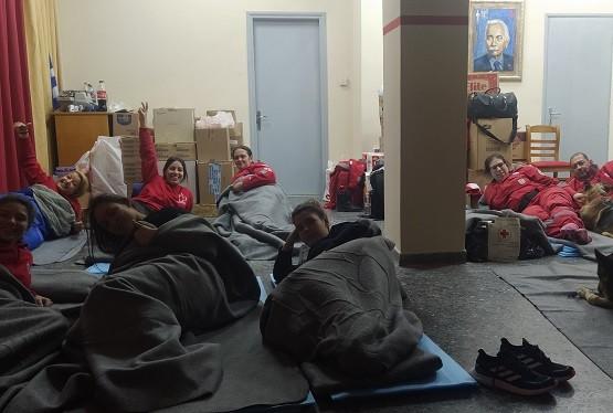Ερυθρός Σταυρός Κομοτηνής: Παραχώρησαν τα δωμάτιά τους στους σεισμόπληκτους