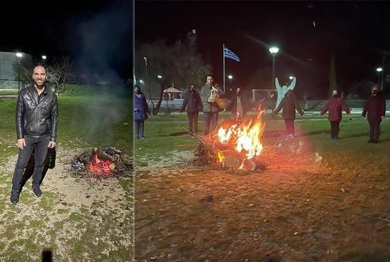 Παραδημή: Άναψαν οι φωτιές του Μάρτη!